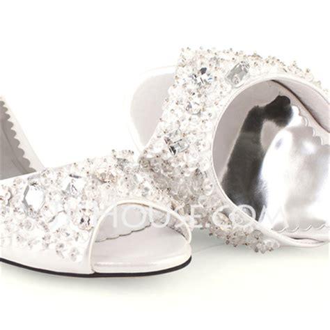 Wedding Shoes Kitten Heel With Peep Toe by S Leatherette Kitten Heel Peep Toe Sandals With