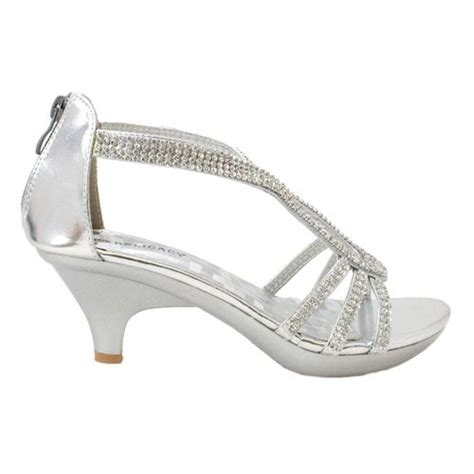 silver sandals for wedding low heel buy new dress sandals rhinestone wedding