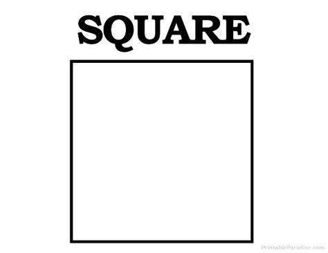 square to square printable square shape print free square shape