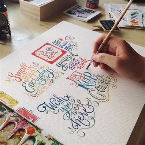 brush lettering tutorial watercolor best 25 watercolor hand lettering ideas on pinterest