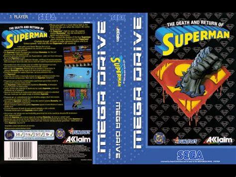sega genesis superman and return of superman sega megadrive genesis
