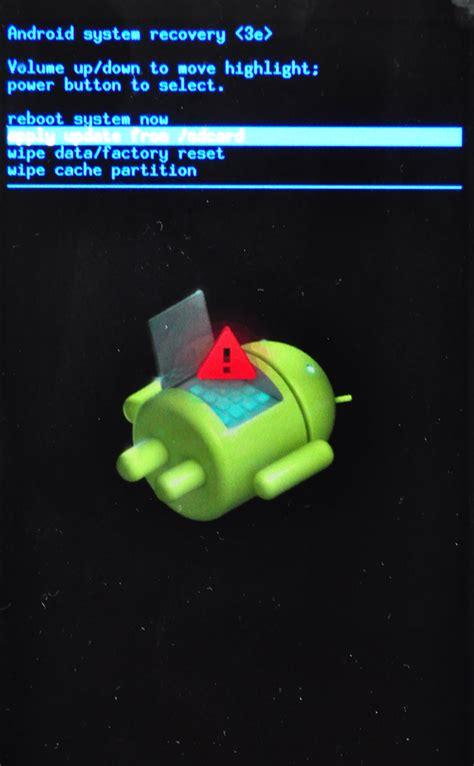 android recovery mode android recovery mode