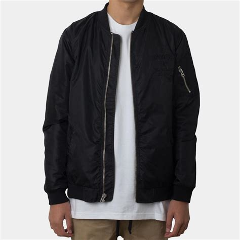 Jaket Bomber Mg Maroon Xl Pitch Black Jaket Bomber Army lower clothing nz lower stockist lower mens womens
