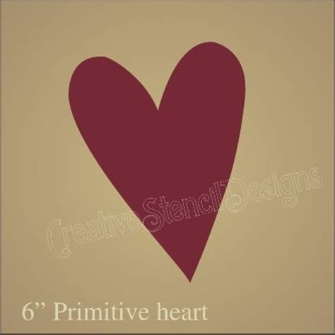 pattern for primitive heart 172 best images about printable hearts stars on
