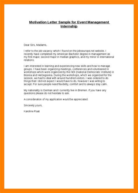 Motivation Letter Draft 11 Motivation Letter For Internship Day Care Receipts