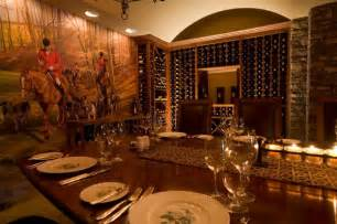 wine cellar dining room dining room and wine cellar at goodstone inn estate in middleburg culinary