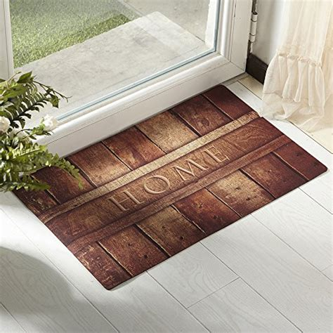 Front Door Mats Indoor Amagabeli Indoor Front Door Mat Woods Home Decor Door Mats Patio Garage Entry Rug Entrance Floor Car