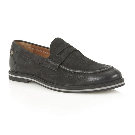 frank wright loafers buy s frank wright blyth black leather loafer