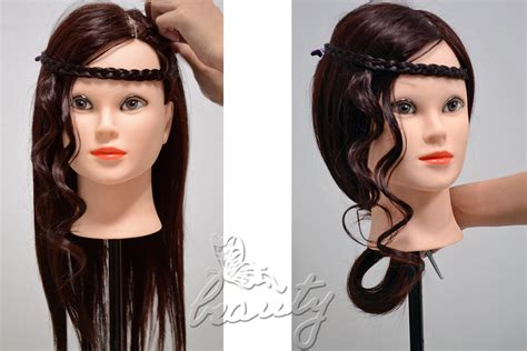 hairstyles to do on a mannequin all styles real human hair salon hairdressing training