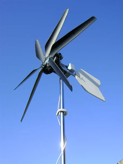 home made wind turbine rotor blades
