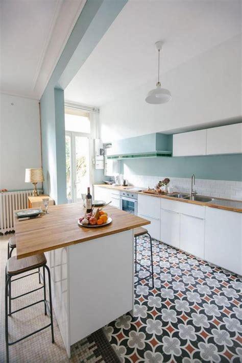 Carreaux De Ciment Cuisine Mur by D 233 Couvrez Nos 84 Jolies Propositions Pour Cuisine Avec Bar