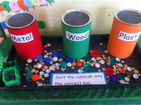 Different Materials by Sorting Different Materials Early Years Science