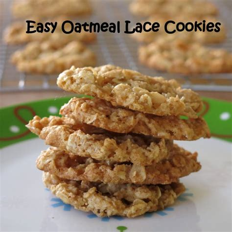 cookies for dinner cookies for dinner books easy oatmeal lace cookies the dinner