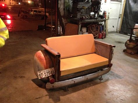 truck bed cers 53 chevy bed couch car furniture pinterest beds