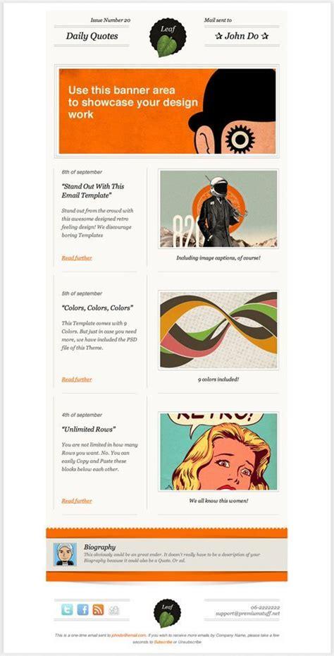 Illustration Centric Hero 3 Articles Brief Headlines Copy Enewsletter Marketing Pinterest Ffa Newsletter Templates