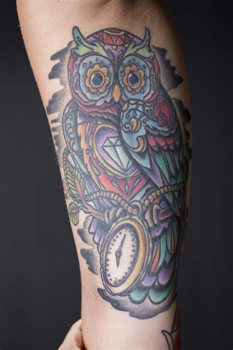 owl jewel tattoo empire tattoo