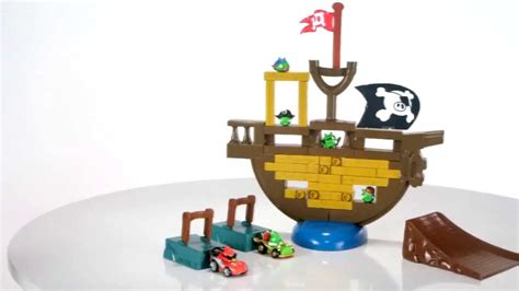 Block Lepin 19005 Angry Birds Piggy Pirate Ship hasbro angry birds go jenga pirate pig attack