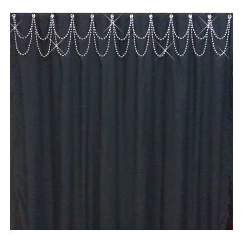 bling shower curtain the bling of gray shower curtain useful reviews of