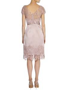 coast dresses coast luma duchess satin dress in pink lyst