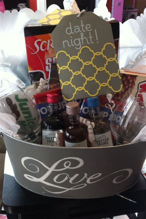 couple date gifts best 25 date basket ideas on date gift baskets date gifts and