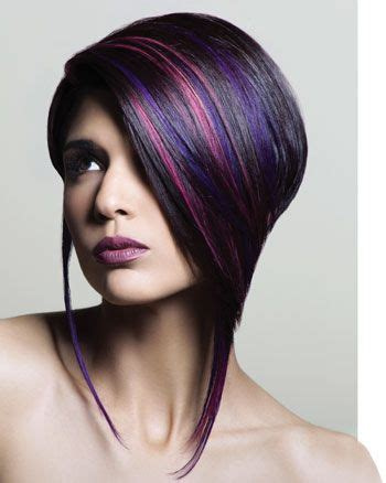 can you have purple highlights for a 60 year woman 357 best hair color images on pinterest hair dos short