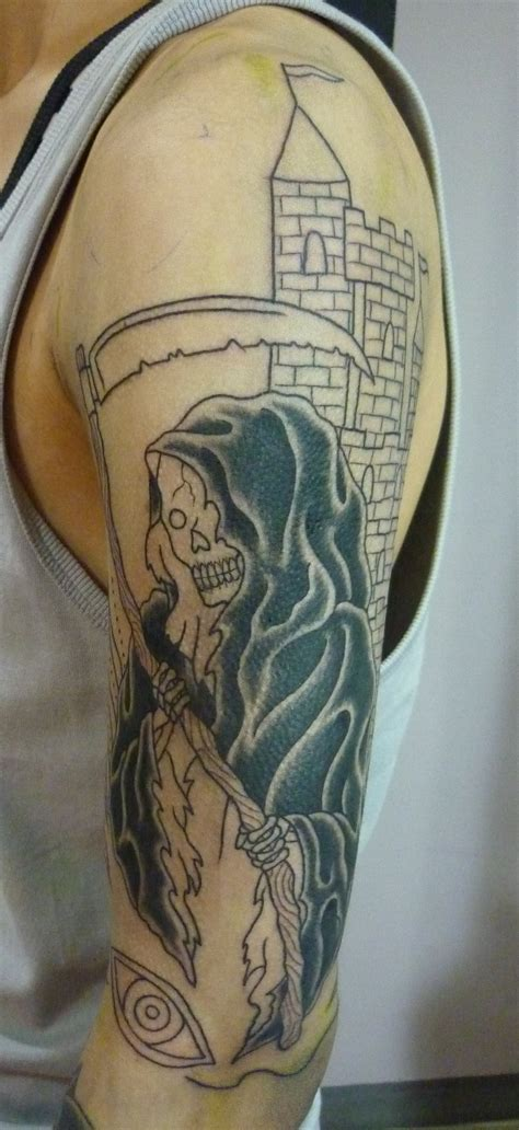 grim reaper tattoos design ideas magment