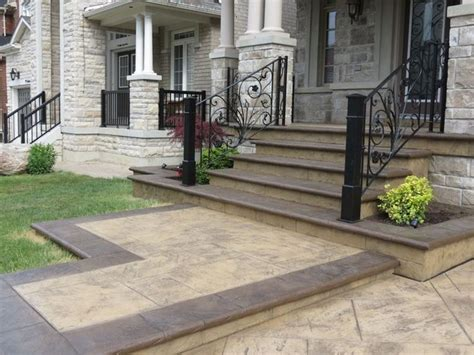 Rebuild Concrete Steps Leading To concrete steps with brick toe new house new style rebuild concrete steps leading to basement