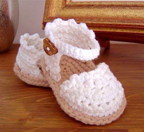 crochet newborn sandals baby crochet sandals several pieces of ideas you can try