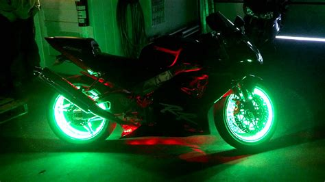 Motorcycle Wheel Light Kit Youtube Led Lights For Motorcycles