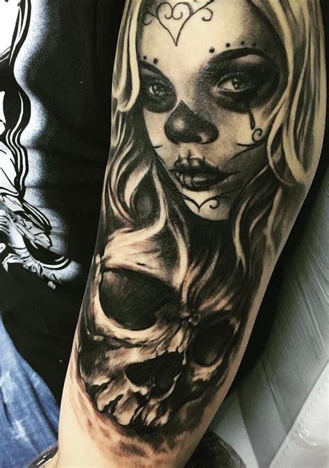 muerte by ivelin stefanov muerte tattoos