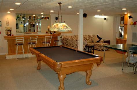 picking the lighting for your basement basement finish pros