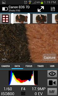 camranger wireless dslr remote apps  google play