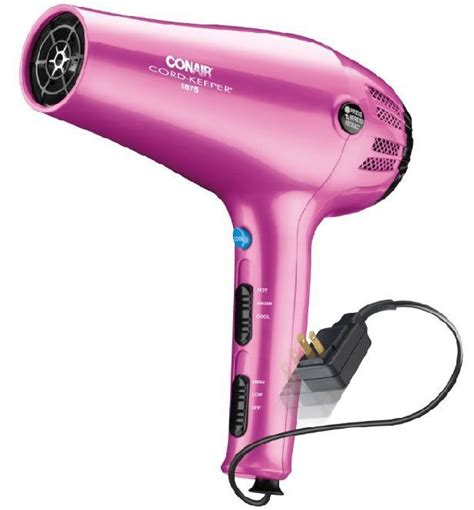 Conair Hair Dryer Retractable Cord conair cord keeper hair dryer review 2 in 1 styler