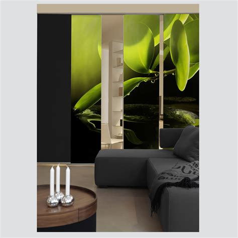 sliding curtain room dividers morning dew sliding curtain surface panel room divider ebay