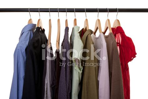 Hanging In Closet by Clothing Hanging In Closet Stock Photos Freeimages