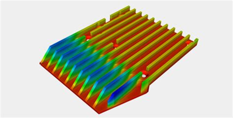 heat sink thermal resistance heat sink simulation and optimization with simscale