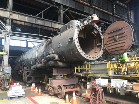bid up up steam update forging ahead with big boy s restoration