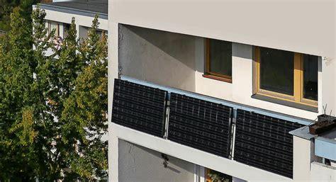 solaranlage balkon erlaubt strom balkon oder terrasse haus garten badische