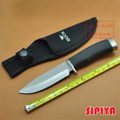 7cr17mov stainless steel reviews new buck stainless steel 7cr17mov 58hrc fixed blade