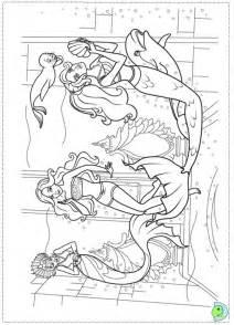 barbie ken coloring pages - Barbie Mermaid Tale Coloring Pages