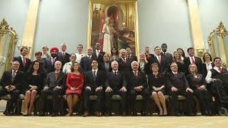 what is the of the cabinet in canada get to justin trudeau s cabinet