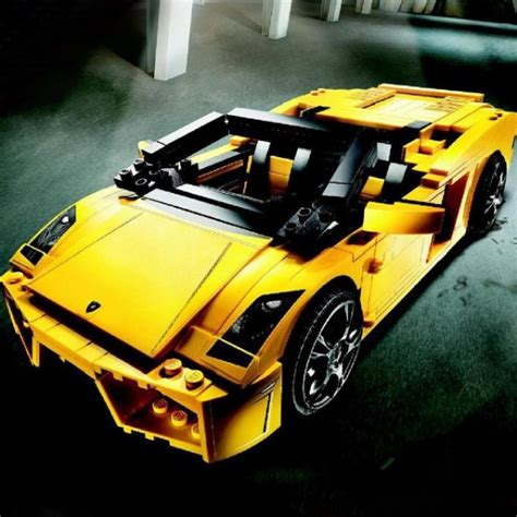 Lego Lamborghini Gallardo by 187 Lego Lamborghini Gallardopetagadget