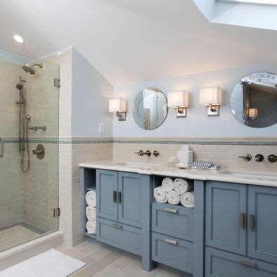 Blue Bathroom Cabinets by Bathroom Remodel Home Ideas