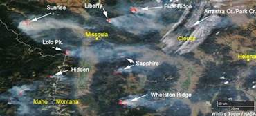 Montana Fire Map by Fires In Western Montana Still Very Active Wildfire Today