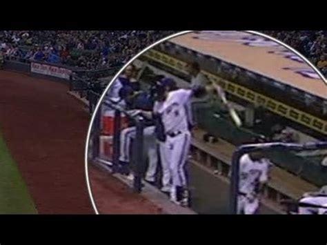 jean swing hd ryan braun hits jean segura in face with bat hd youtube
