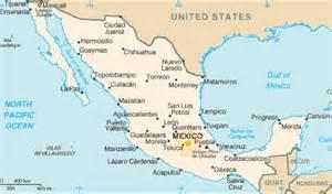 maps of mexico df