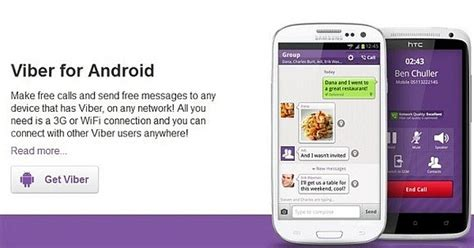 viber for android viber free