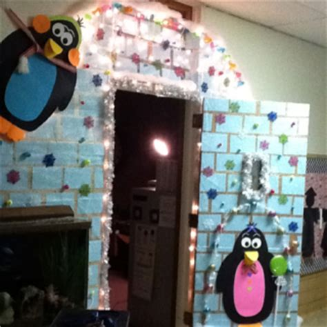 Winter School Decorations by Winter Door Decorations