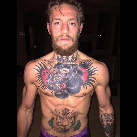conor mcgregor mma fighters tattoo art pinterest mma