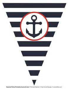 free nautical party printables from ian amp lola designs